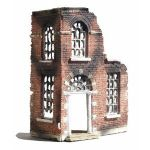 "JGM 45  Ruined Town House   6"" x 3"" x 8"""